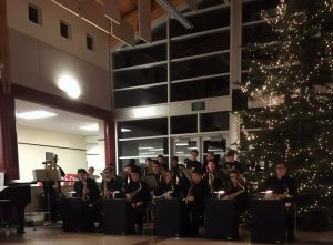 Commencement Bank-Salvation Army-Capital High School band