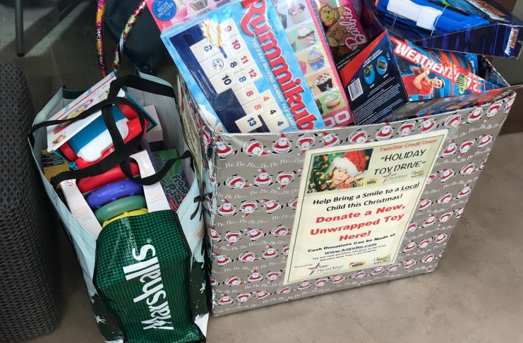 KGY-KAYO-TwinStar toy drive-Toy Box donations
