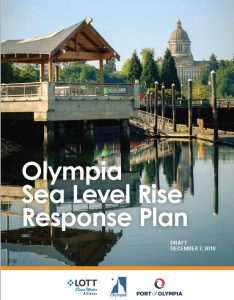 LOTT CLean Water Alliance Sea Level Rise Response Plan Cover