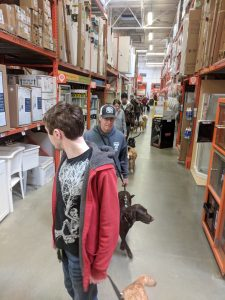 Home Depot training outing