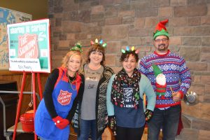Rob Rice Homes Gives Time to Salvation Army