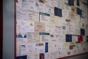 SPSCC AEC Technology Program Graduates Business Cards