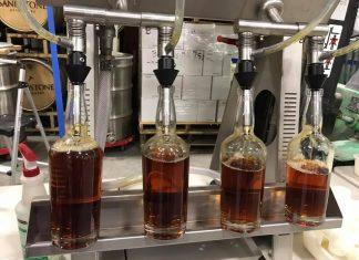 Sandstone Distillery Bottling Process