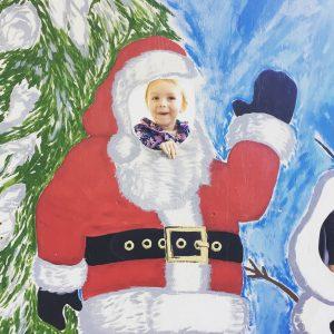 Santa on the Hood Canal