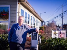 Sunset Air Randy Norris Electric Car Charging Station