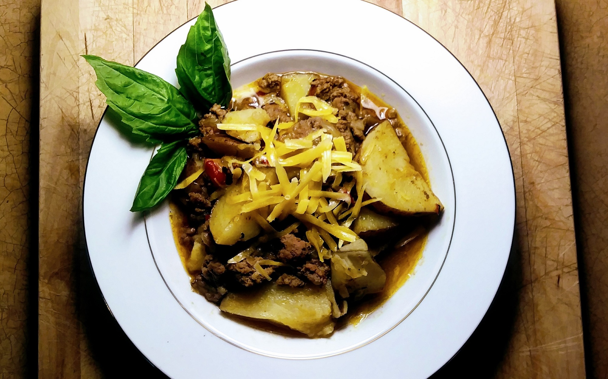TempleFit Curried Beef and Potatoes