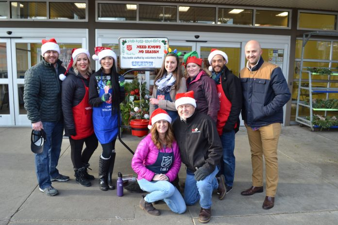 Thurston County REALTORS Ringing for Salvation Army
