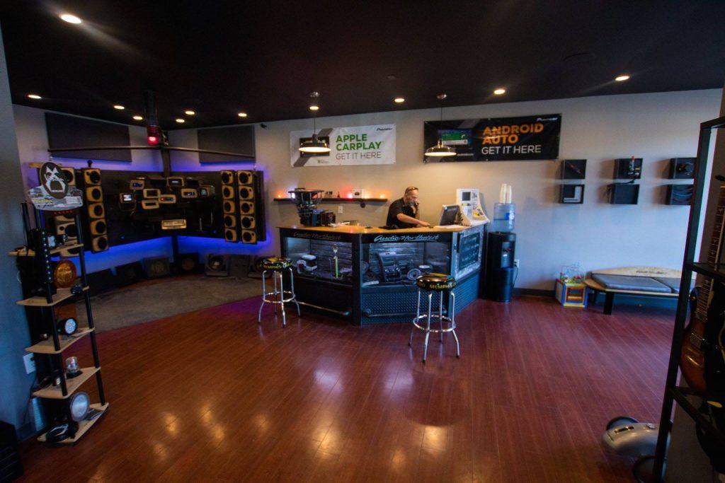Audio Northwest inside store