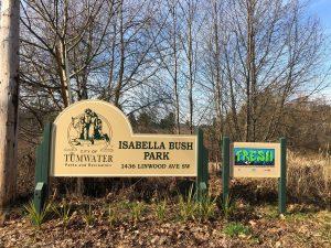 Black History Month Isabella Bush Park Tumwater