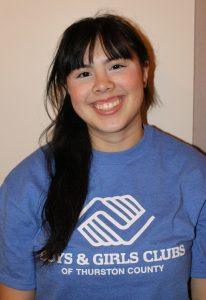 Boys and Girls Club Youth of the Year Johanna Chhay - Olympia Nominee