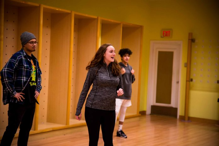 Broadway Olympia Productions The Wedding Singer Choreography Right in Front of Your Eyes