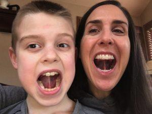 Gundersen dental care Breath better, Annie and her son
