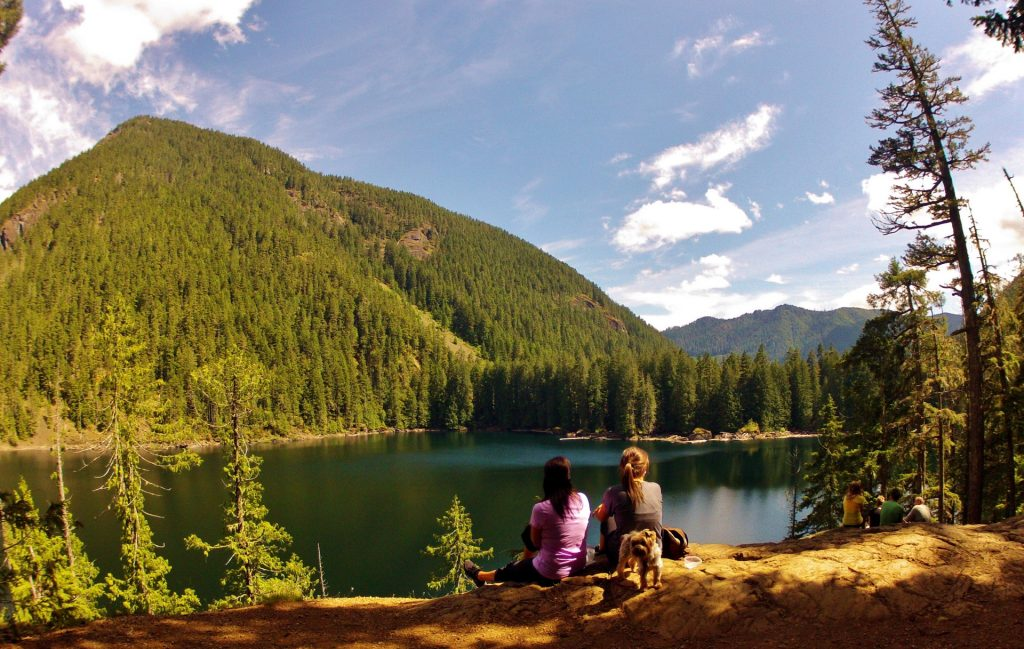 Hiking Lena Lake