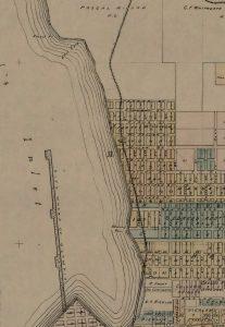 Howard Point 1890 map