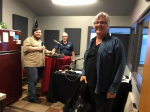 KGY KAYO auction big on air radio talent and auctioneers
