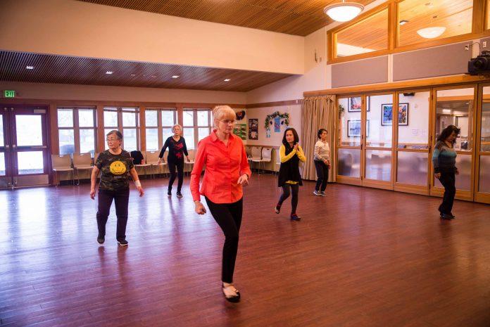 Lacey Senior Center Dance Class