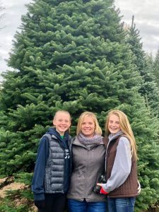 Olympia Orthopaedic Associates Lacy Waltermeyer and her kids 1