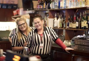 Quinault Beach Resort and Casino ocean lounge lady bartenders
