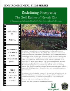 Environmental Film Series @ The Evergreen State College
