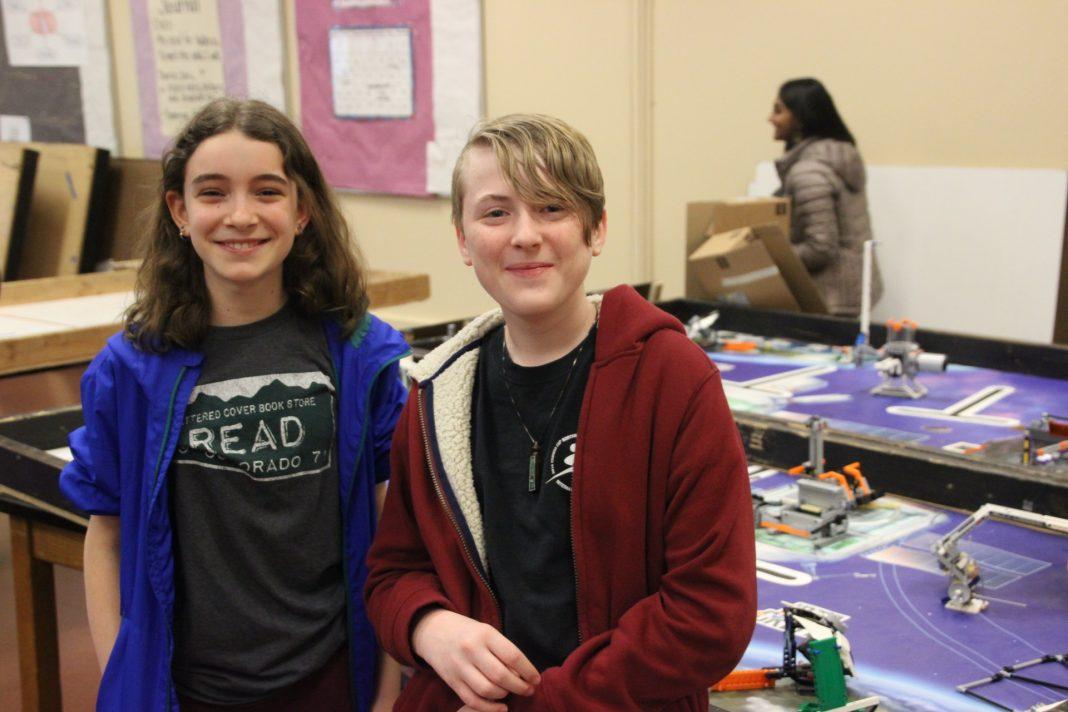 Jefferson Middle School's robotics program