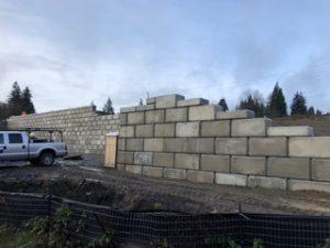 SCJ Alliance Craft District Retaining Wall