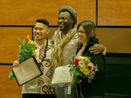 SPSCC MLK Banquet Scholarship Recipients Thurston Group of Washington