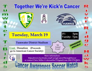 Together We're Kick'n Cancer @ Tumwater District Stadium