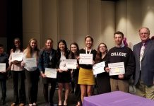 2018 North Thurston High School NTEF Scholarship Recipients