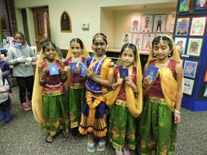 City of Lacey Cultural Celebration kids with passports
