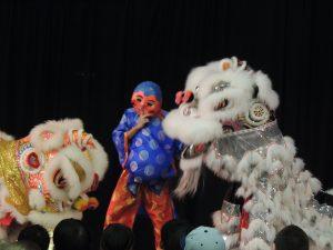 City of Lacey Cultural Celebration lion dancers & mask