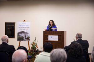 Dr Angela Bowen Health Education Building SPSCC Media Event Tanya Mote