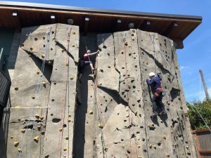 Learning to climb with the Mountaineers