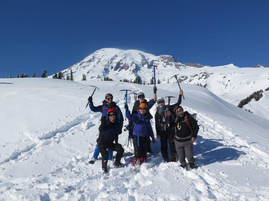 Mountaineers Class on Rainier
