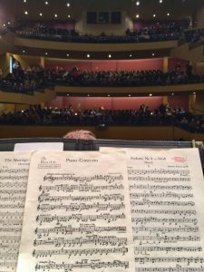 Olympia Symphony Orchestra Jean Van Effen view 02.2019