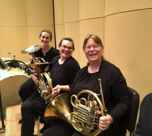 Olympia Symphony Orchestra horn section 2018