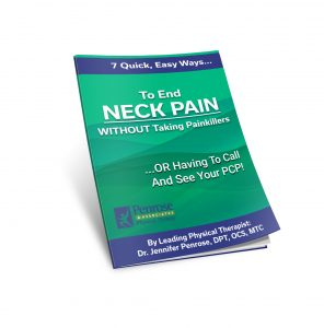 Penrose Physical Therapy Neck Pain Report Cover 3D