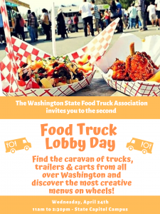 Food Truck Lobby Day @ Capitol Campus