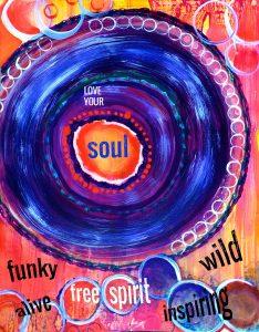 Sacreah Art titled Funky Soul Web