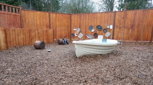 Sequoias Treehouse Play Area Boat