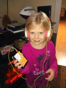 Timberland Regional Library Little Girl Headphones
