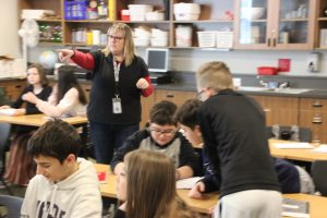 Tumwater Middle School Science Class