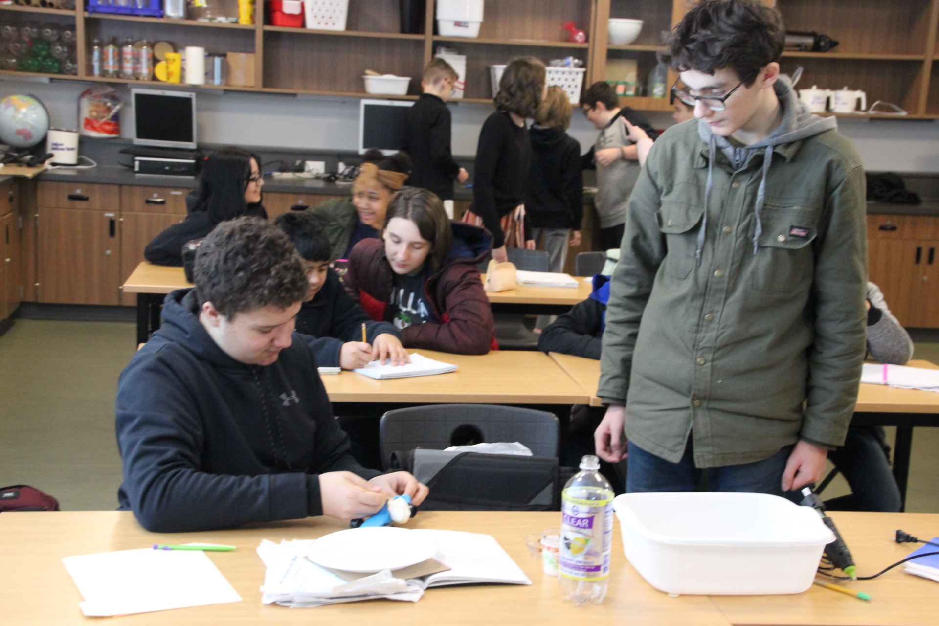 Students at Tumwater Middle School Enjoy an Engaging Science
