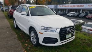 Volkswagen of Olympia white audi