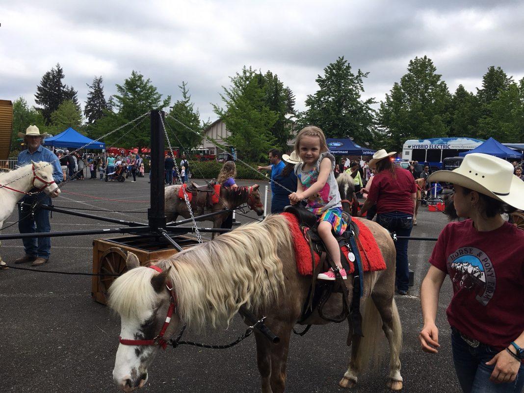 2019 Lacey Spring Fun Fair pony rides