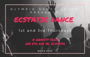 Ecstatic Dance Olympia Co-op @ Gravity Yoga