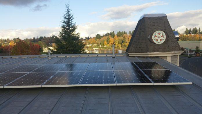 Batdorf and Bronson Solar panels