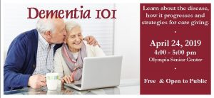 Dementia 101 @ Olympia Senior Center