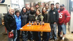 Dicks Brewing Company group photo