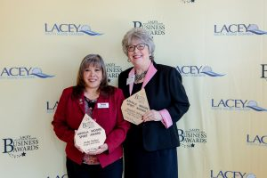 Lacey South Sound Chamber Awards Anita Yarber Madelin White Arvilla Moore Spirit Award