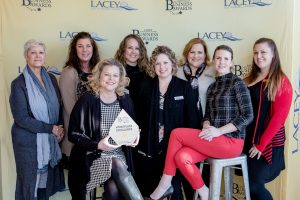 Lacey South Sound Chamber Awards Chicago Title Workplace Excellence